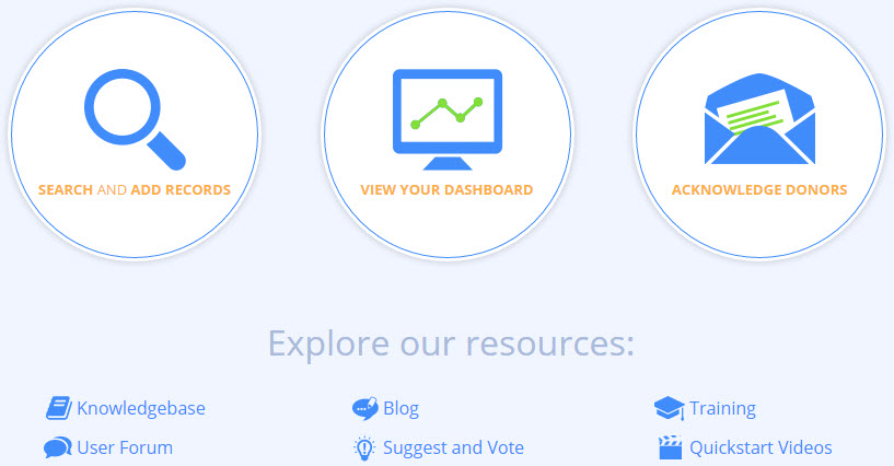Fundraising Dashboard Landing Pages