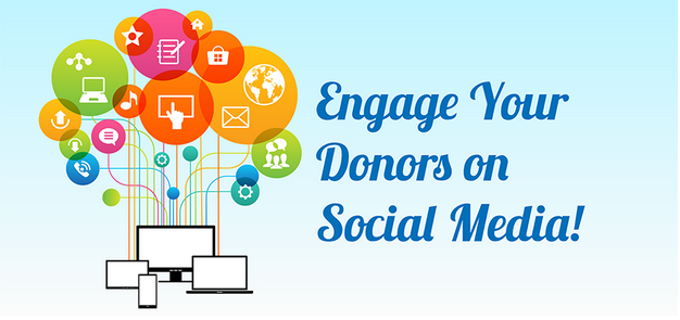 Using Social Media for Fundraising Banner