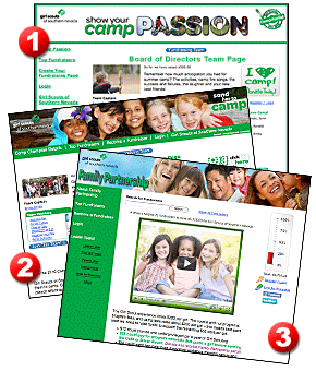 Girl Scouts Fundraising Page Example