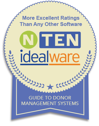 NTEN and Idealware rate DonorPerfect with more Excellent Ratings than any other vendor!