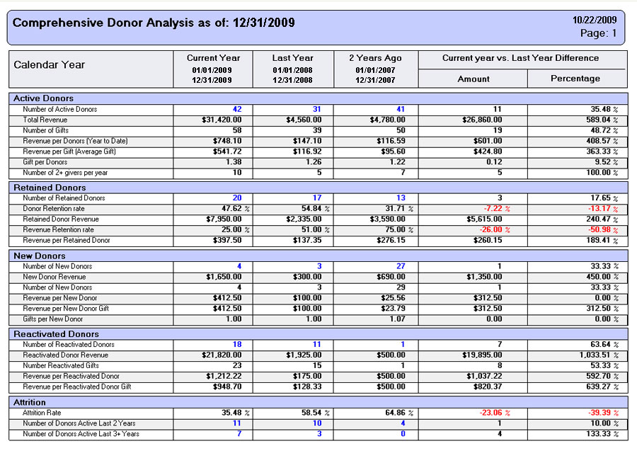 Non Profit Financial Statement Sample http://www.donorperfect.com/fundraising-software/non-profit-software.asp